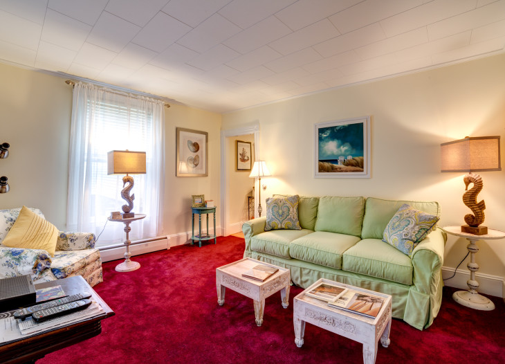 Spacious and well appointed first floor suite